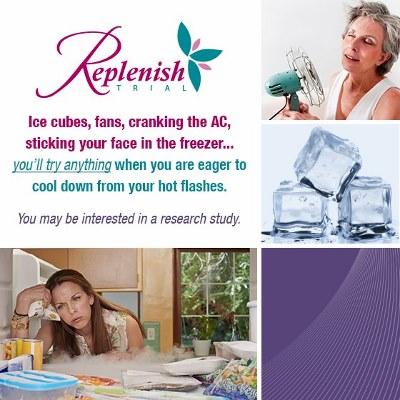 Post image for Hot Flashes in Perimenopause: The Replenish Study