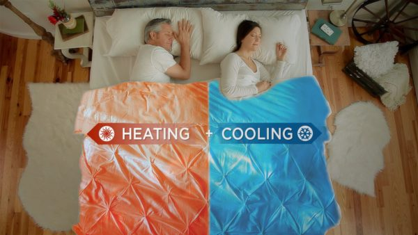 and if thatu0027s not cool enough pun totally intended with the dual zone bundled set up the bedjet v2 solves the age old problem of couples with