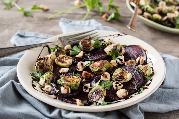 Weight Gain in Perimenopause: Beet and Brussels Sprouts