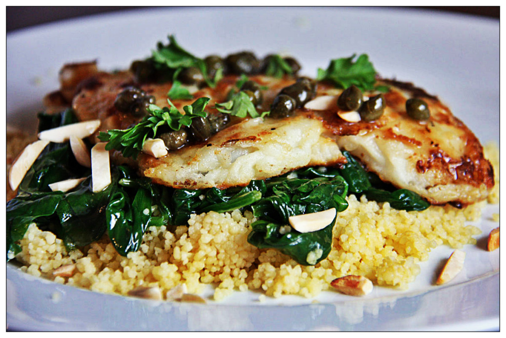 Weight Gain in Perimenopause: Lemon Hot Fish