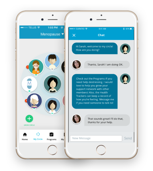 Curatio: A Smart Way to Connect, Network, Share & Find Support in Perimenopause