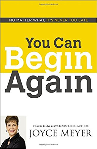 You Can Begin Again, No Matter What, It's Not Too Late.  I Did And You Can Too.